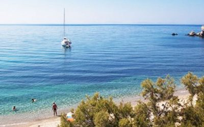 The beaches on the North, East and South of Naxos by Lagos Mare Boutique Hotel!
